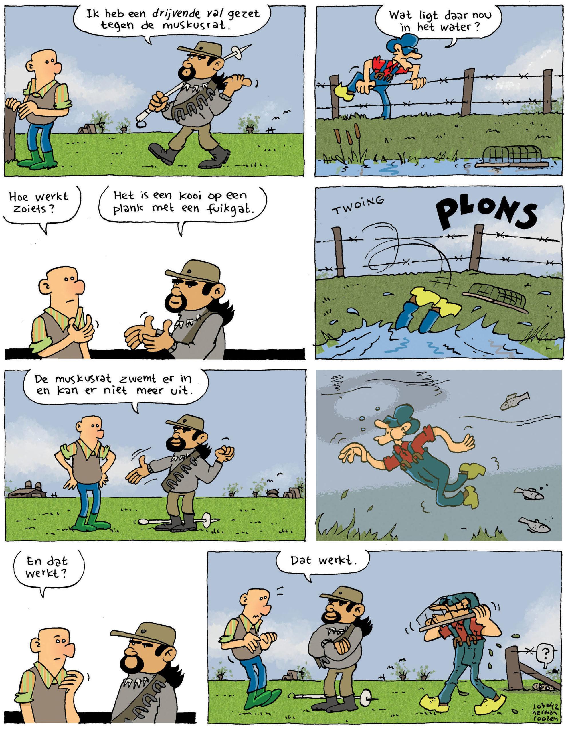 Tekst en tekeningen: Herman Roozen