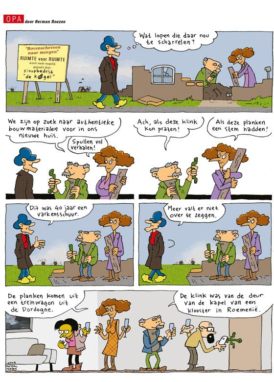 Strip van Opa van 24 november 2015
