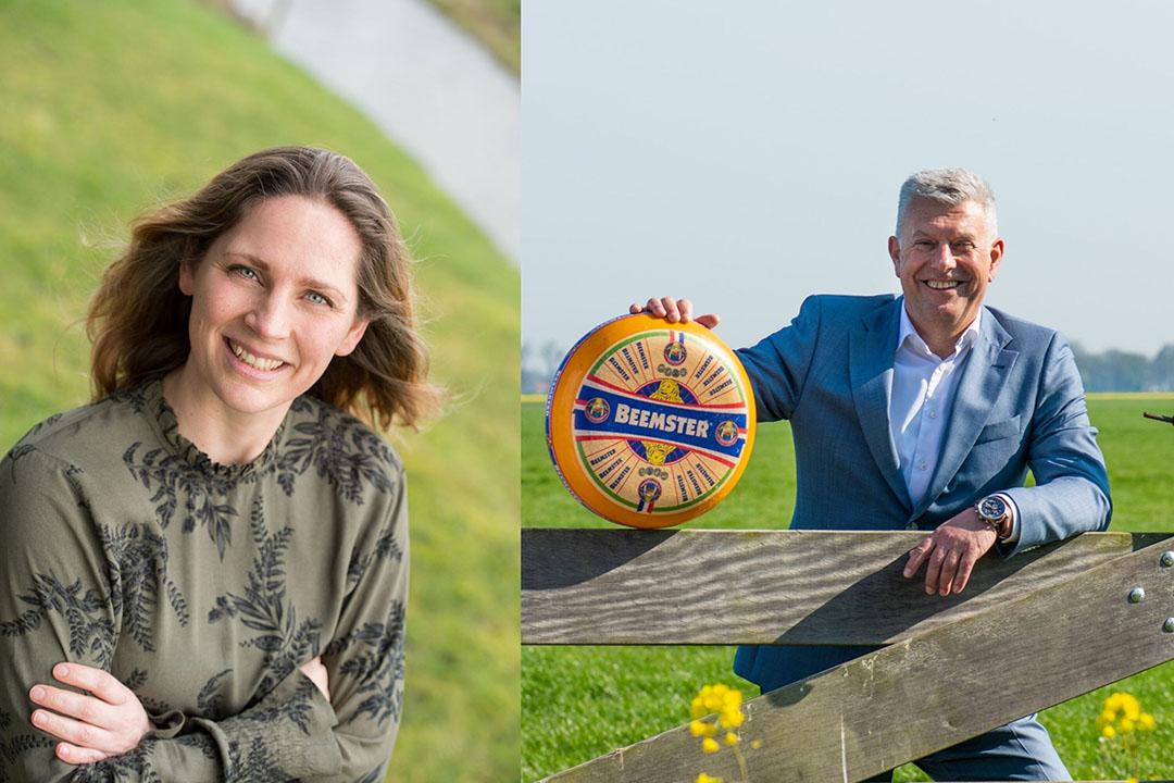 Duurzaamheidsmanager Grietsje Hoekstra en Wim Betten, algemeen direteur Cono. - Foto's: Mo Juriaan Barends en Piet Blaauw