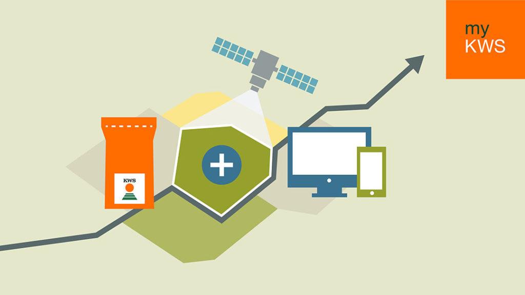 Via myKWS kun je gebruik maken van de Maiszaadservice, en beschik je meteen over allerlei handige tools. - Afbeelding: KWS