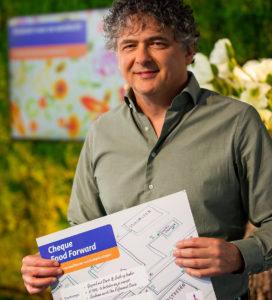 Laurens Bierens wil het voor ondernemers gemakkelijker maken om hun bedrijfsvoering te verduurzamen. - Foto: Rabobank