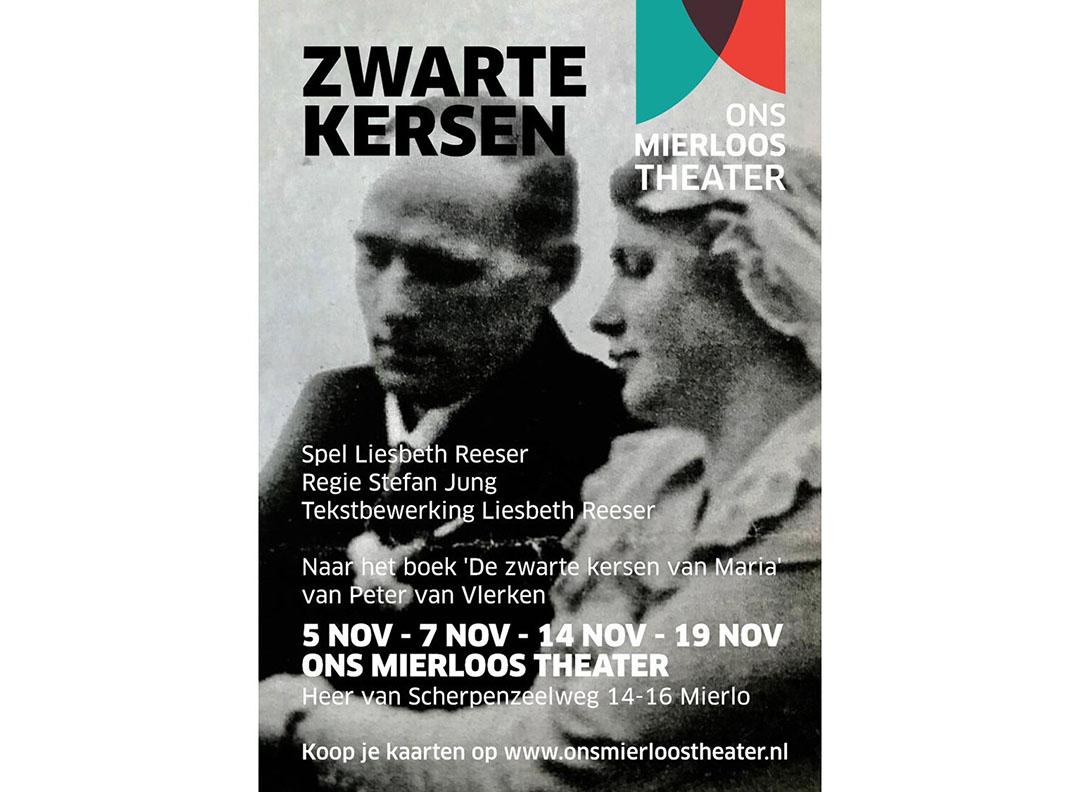 In november wordt het toneelstuk over Mariás leven opgevoerd. Kijk voor actuele speeltijden op de website van het theater.