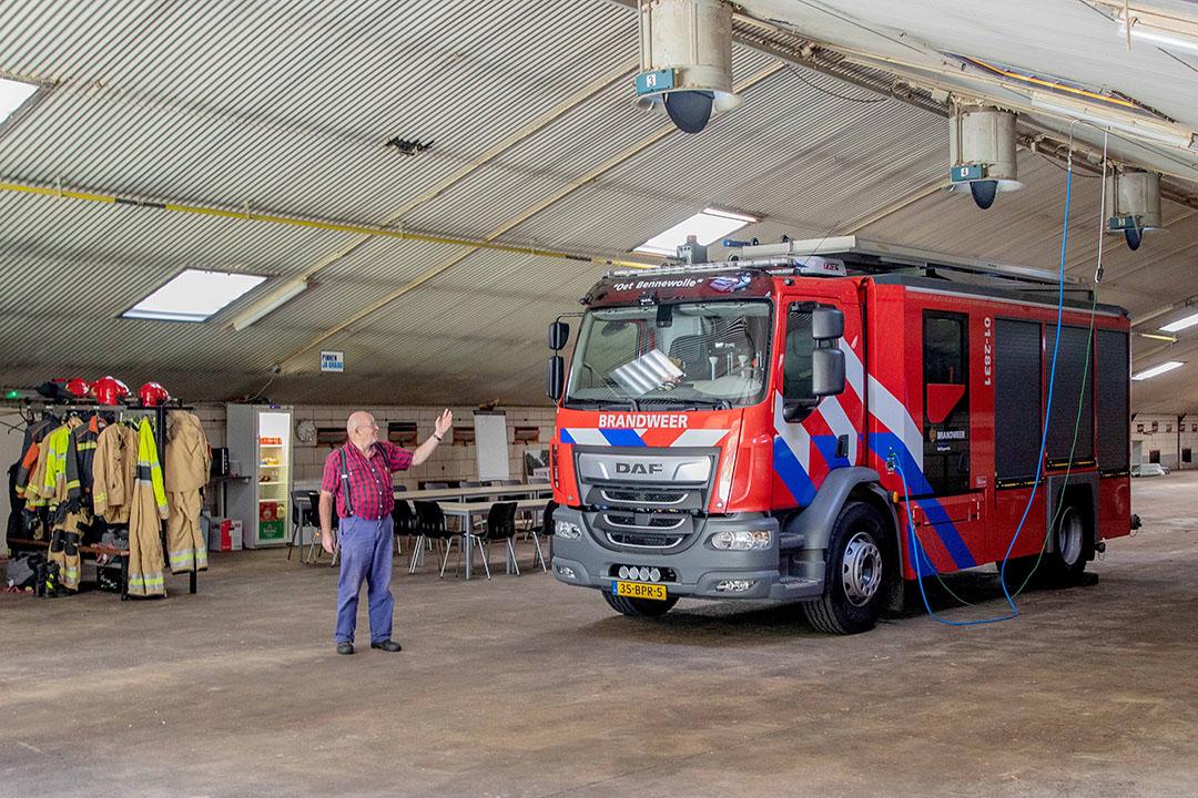 De uitrukkende brandweer zorgt volgens Glazenburg niet voor te veel overlast.